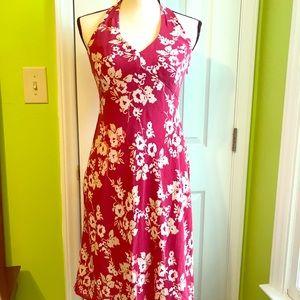 LOFT Floral Design Cocktail/Party Dress